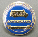 """ACCREDITED"" Lapel Pin"