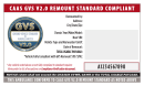 CAAS GVS Vehicle Certification Package for Remounters (50)